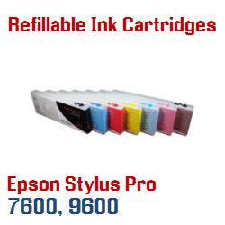 Epson Stylus Pro 7600, 9600 Printers Refillable Cartridges