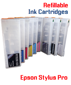 Refillable Ink Cartridges Epson Stylus Pro Printers