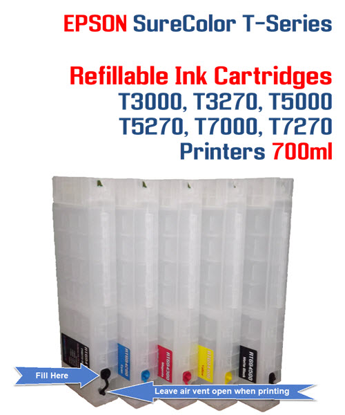Epson T-Series Refillable instructions