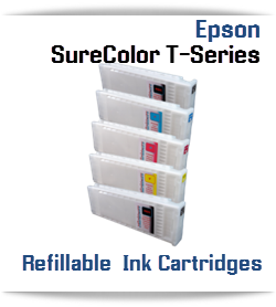 Epson SureColor T-Series Printer Refillable Ink Cartridges 700ml