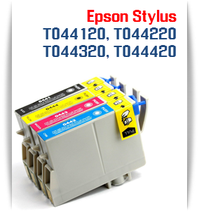 Stylus C64 T044 Epson Compatible Ink Cartridges