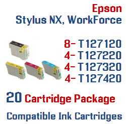 20 Cartridge Package T127