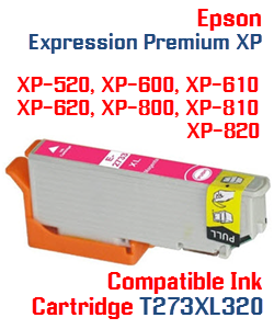 T273XL320 Magenta High-capacity Expression Premium XP Compatible Ink Cartridge