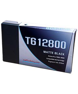 T612800 Matte Black Epson Stylus Pro 7800/9800 Compatible Pigment Ink Cartridges 220ml