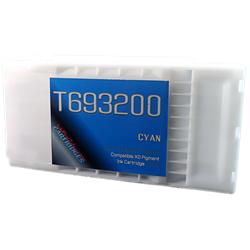 Cyan T693200 EPSON SureColor T3000, T5000, T7000, T3270, T5270, T7270, T5270D, T7270D UltraChrome Pigment XD Ink Cartridge 350ml