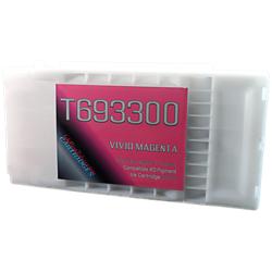 Magenta T693300 EPSON SureColor T3000, T5000, T7000, T3270, T5270, T7270, T5270D, T7270D UltraChrome Pigment XD Ink Cartridge 350ml