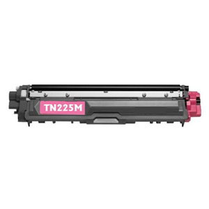 TN225M Magenta Brother Compatible Toner Cartridge - Works with:  HL Printers: HL-3140CW, HL-3170CDW, MFC MultiFunction Printers: MFC-9130CW, MFC-9330CDW, MFC-9340CDW