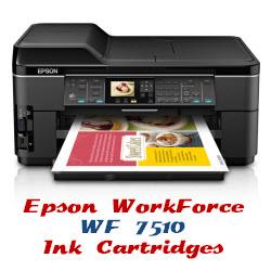 Epson Compatible Ink Cartridges WorkForce WF 7510