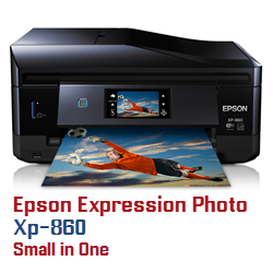 Epson Expression Photo XP printer ink cartridges