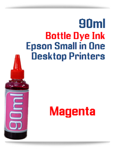 Magenta 90ml Bottle DYE Ink Epson Desktop Small Format Printers