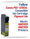 Yellow PGI-1200XL Compatible Ink Cartridge Canon Maxify MB2020, MB2320 printers