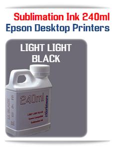 Light Light Black 240ml Epson Desktop printers compatible Sublimation Ink