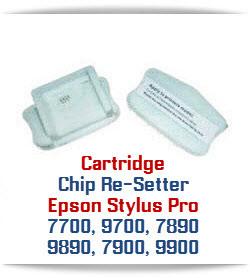 Chip Re-Setter Epson Stylus Pro 7700/9700, 7890/9890,7900/9900 Printer Cartridges