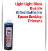 Light Light Black 180ml Dye Ink for Epson Printers