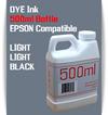 Light Light Black 500ml Dye Bottle Ink Epson Stylus Pro Printers