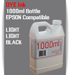 Light Light Black 1000ml Dye Bottle Ink Epson Stylus Pro Printers