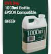 Green 1000ml Dye Bottle Ink Epson Stylus Pro Printers