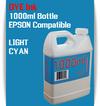 Light Cyan 1000ml Dye Bottle Ink Epson Stylus Pro Printers