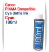 1 180ml Bottle Cyan Dye Ink