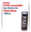 1 180ml Bottle Photo Black Dye Ink