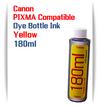 1 180ml Bottle Yellow Dye Ink