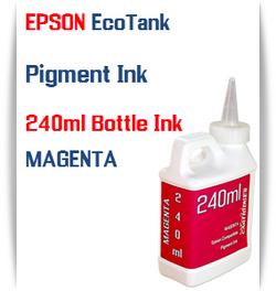 Magenta EPSON EcoTank 240ml Pigment Bottle Ink
