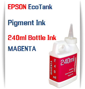 EPSON EcoTank Magenta 240ml Pigment Bottle Ink