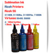 RICOH 4 Color 100ml Sublimation Ink