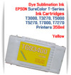 Yellow EPSON SureColor T-Series Compatible Dye Sublimation ink Cartridge 350ml