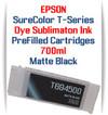 Matte Black T694500 EPSON SureColor T-Series Compatible Dye Sublimation ink Cartridge 700ml