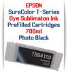 Photo Black T694100 EPSON SureColor T-Series Compatible Dye Sublimation ink Cartridge 700ml
