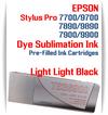 Light Light Black Epson Stylus Pro 7900/9900 Pre-Filled Dye Sublimation Ink Cartridge