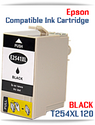 BLACK T254XL120 Epson WorkForce WF compatible ink cartridge