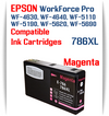 Magenta 786XL Epson WorkForce Pro Printer Compatible Ink Cartridge