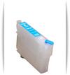 Cyan Epson Artisan 1430 printer refillable ink cartridge