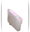 Light Magenta Epson Artisan 1430 printer refillable ink cartridge