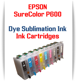 9 - Dye Sublimation Ink Cartridges Epson SureColor P600 printer