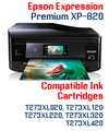 Expression Premium XP-820 Small in One Compatible Ink Cartridge