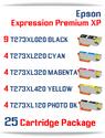 25 Cartridge Deal T273XL Epson Expression Premium XP Compatible Ink Cartridges