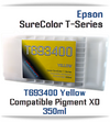 T693400 EPSON SureColor T-Series Printer Compatible Yellow Ink Cartridge 350ml