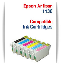 Epson Artisan 1430 Inkjet Printer Compatible Ink Cartridges