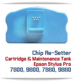 Chip Re-setter Epson Stylus Pro 7800, 9800, 7880, 9880