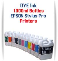 Dye Ink 1000ml Bottles - Epson Stylus Pro Printers