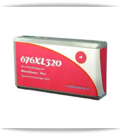 676XL320 Magenta Compatible with EPSON Printers Workforce pro WP-4010, Workforce pro WP-4020, Workforce pro WP-4023, Workforce pro WP-4090, Workforce pro WP-4520, Workforce pro WP-4530, Workforce pro WP-4533,Workforce pro WP-4540, Workforce pro WP-4590