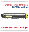 TN225Y Yellow Brother Compatible High Yield Toner Cartridge