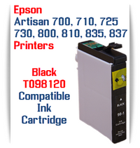 Epson Artisan Printer T098120 Black Compatible Ink Cartridge