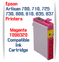 Epson Artisan Printer T098320 Magenta Compatible Ink Cartridge