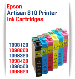 Epson Artisan 810 printer compatible ink cartridges