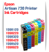Epson Artisan 730 printer compatible ink cartridges
