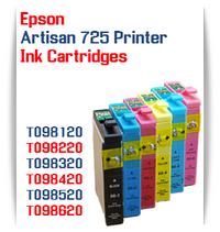 Epson Artisan 725 Printer Compatible Ink Cartridges